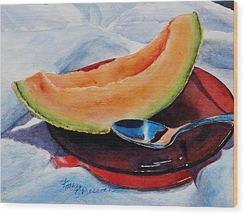 Afternoon Delight Wood Print by Kathy Nesseth