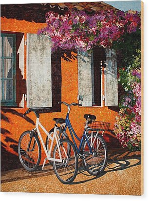 Afternoon Delight Wood Print by Lenore Crawford