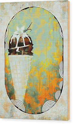 Afternoon Delight  Wood Print by Liane Wright