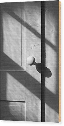 Afternoon Shadows Wood Print