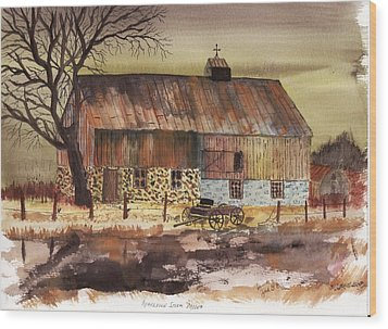 Afternoon Storm Passed Wood Print by Jack G  Brauer