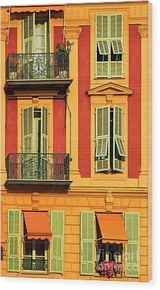 Afternoon Windows Wood Print by Inge Johnsson