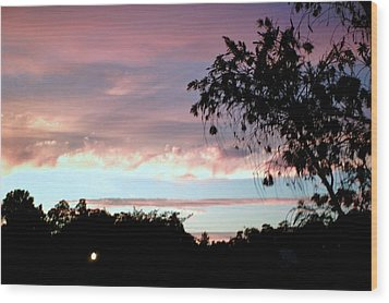 Wood Print featuring the photograph Against The Blue Sky by Yolanda Rodriguez
