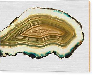 Agate 1 Wood Print