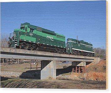 Aiken Railway 01/19/2014 Wood Print