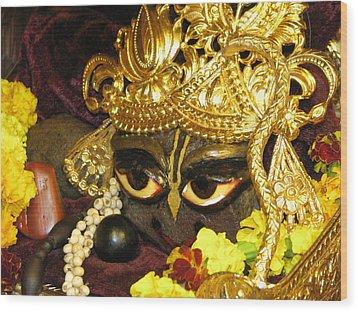 Aindra's Baba Shyamasundar Wood Print by Lila Shravani