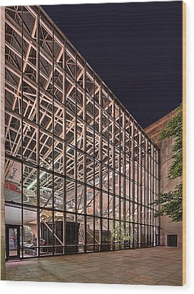 Air And Space Museum Flight Wood Print by Metro DC Photography