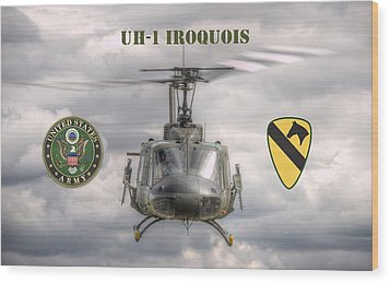 Air Cavalry Wood Print