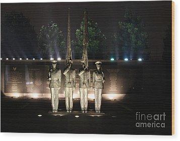 Air Force Memorial Wood Print