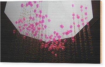 Air Jelly Wood Print