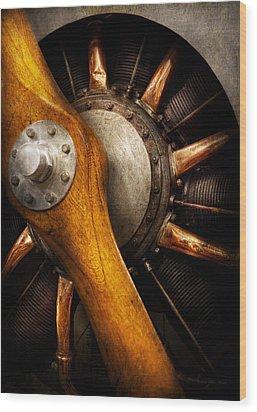 Air - Pilot - You Got Props Wood Print