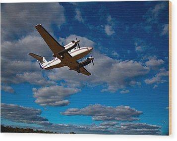Airborne Doctors Wood Print by Carole Hinding