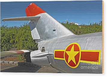 Airplane - 14 Wood Print by Gregory Dyer