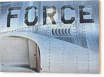 Airplane - 17 Wood Print by Gregory Dyer