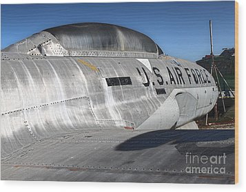Airplane Graveyard - 04 Wood Print by Gregory Dyer