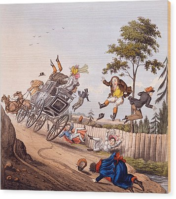Airy Nothings, Or Scraps And Naughts Wood Print by M. Egerton