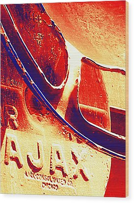 Ajax Wood Print by Wendy J St Christopher