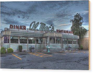 Al Mac's Diner Wood Print