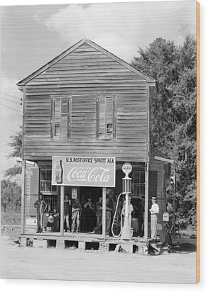 Alabama Post Office Wood Print by Granger