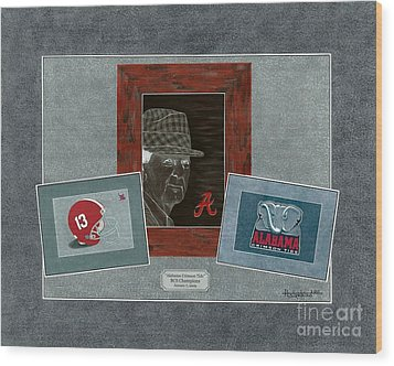 Alabama Trio  Wood Print by Herb Strobino