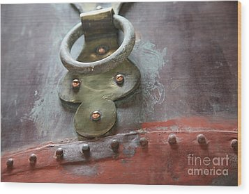 Wood Print featuring the photograph Alambic Brass Detail by Lynn England