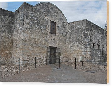 Alamo Days Wood Print