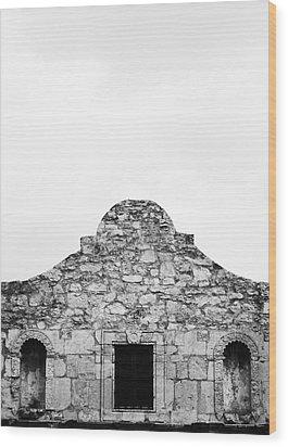 Alamo 1 Wood Print by John Gusky