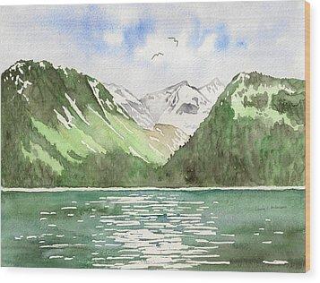 Alaska Kenai Fjords Wood Print