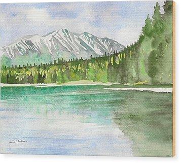 Alaska View Wood Print