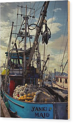 Alaska Yankee Maid Trawler Wood Print