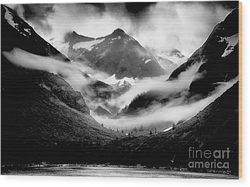 Alaskan Country Side Wood Print by JRP Photography