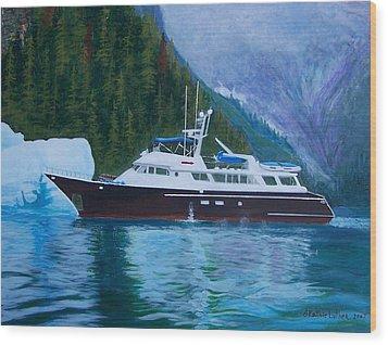 Alaskan Cruise Wood Print