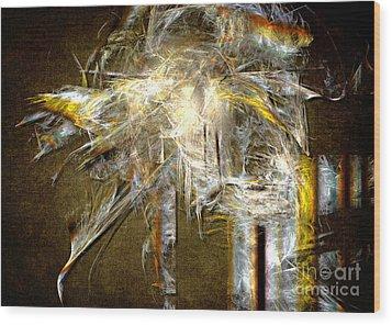 Wood Print featuring the painting Albatross by Alexa Szlavics