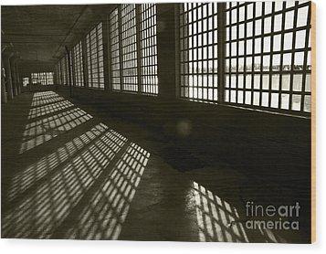 Alcatraz 4 Wood Print by Micah May