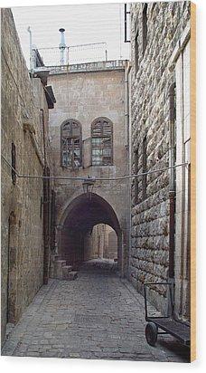 Aleppo Alleyway03 Wood Print