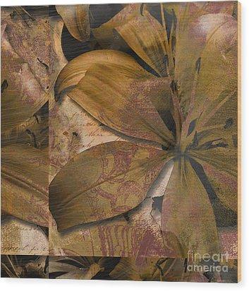 Alexia II Wood Print by Yanni Theodorou