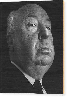 Alfred Hitchcock Wood Print by Studio Photo