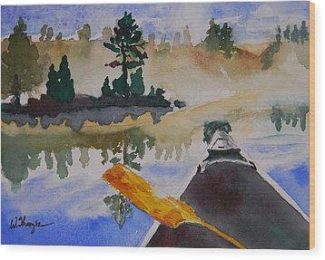 Algonquin Provincial Park Ontario Canada  Wood Print