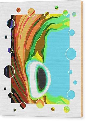 Alien World   Wood Print by Scott Cameron