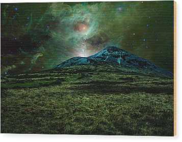 Alien World Wood Print by Semmick Photo