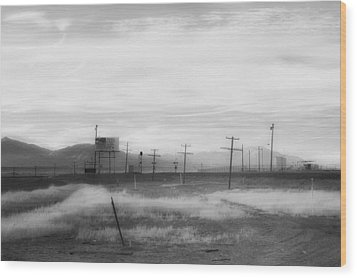 All American Landscape Wood Print by Hugh Smith