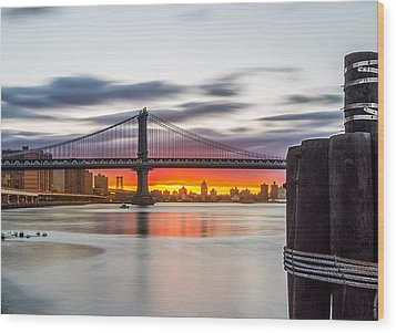 Wood Print featuring the photograph All Natural Color by Anthony Fields