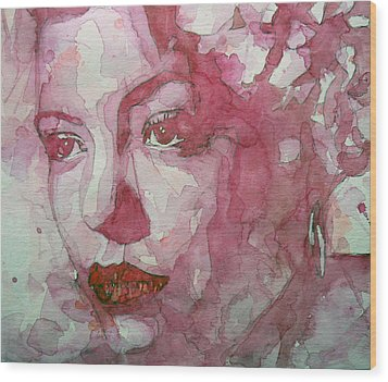 All Of Me Wood Print by Paul Lovering