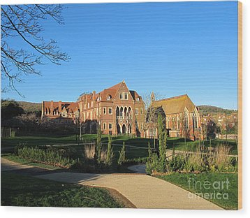 All Saints Church In Eastbourne Wood Print by Art Photography