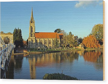 All Saints Church Marlow Wood Print