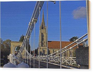All Saints Church Wood Print by Tony Murtagh