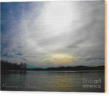 All The Colors Of The Day Wood Print by Lorraine Heath
