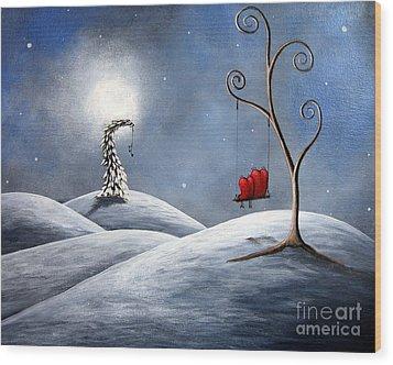 All We Need For Christmas By Shawna Erback Wood Print by Shawna Erback
