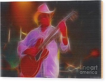 Allman-dickie-95-gb21-fractal Wood Print by Gary Gingrich Galleries