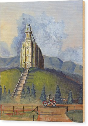 Almost Home Wood Print by Jeff Brimley